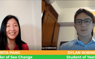 Interview with Winner of 2020 – Student of the Year